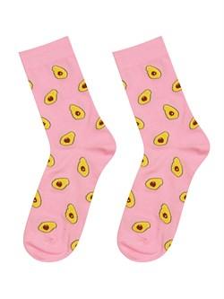 Носки Авокадо ZAIN 021 розовые - фото 5191