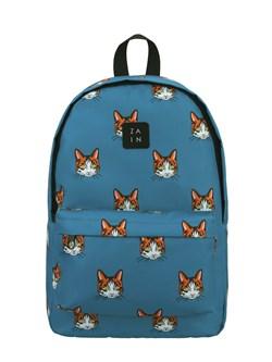 Рюкзак 375 (Коты синий фон) - фото 5490