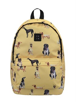Рюкзак 435 (Собаки желт.2) - фото 5650