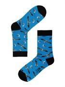 Носки Чайки ZAIN 056 голубые