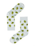 Носки Авокадо ZAIN 023 белые