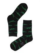 Носки Крокодилы ZAIN 091 черные